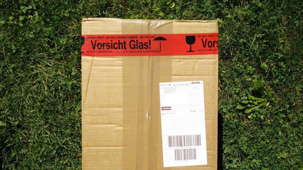 Paket von Wachtel-Shop.com